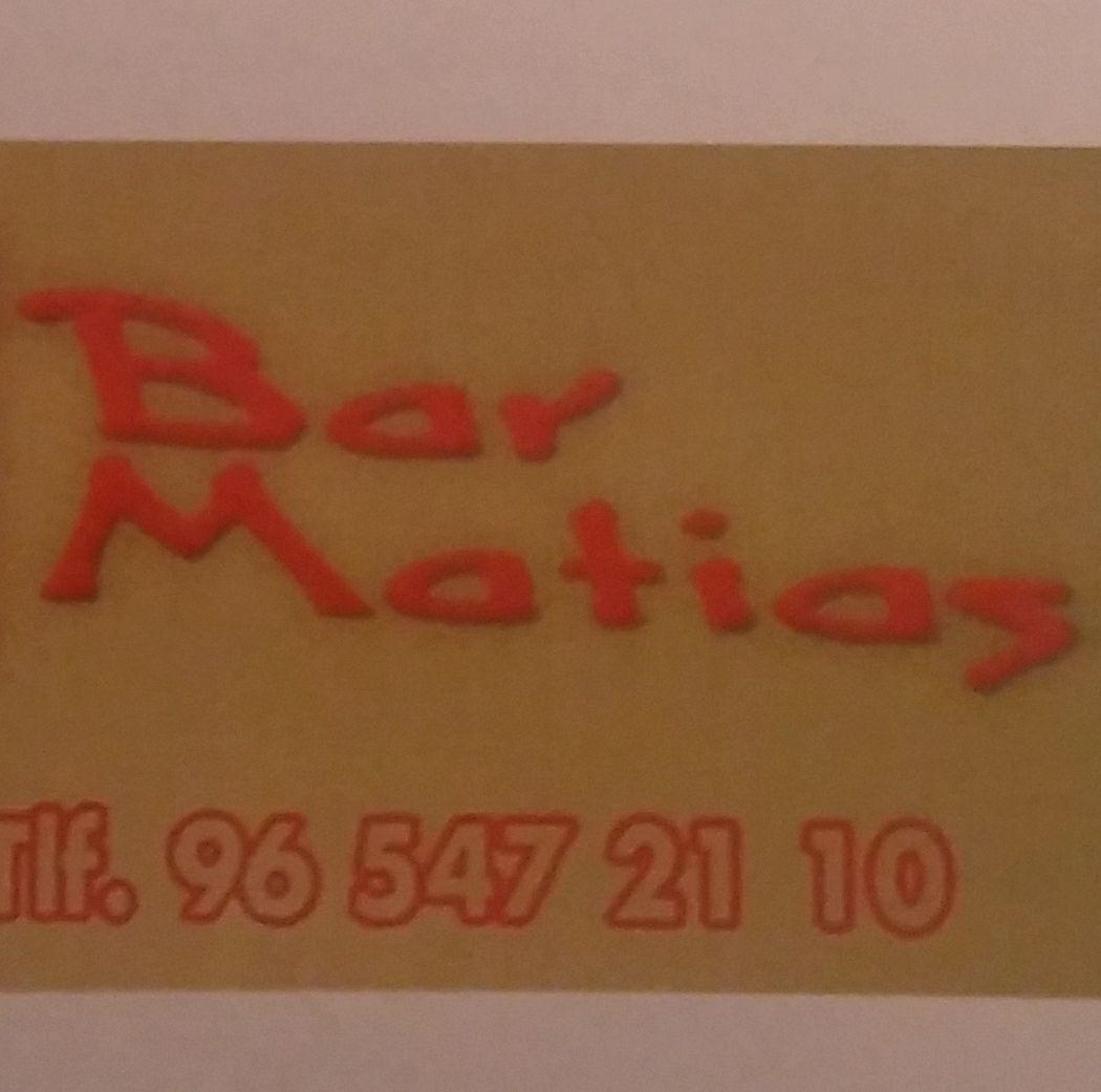 Bar Matias Logo