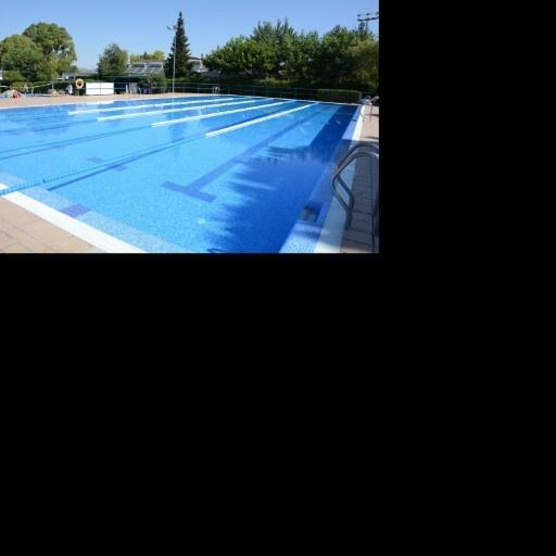 Pinoso's Public Swimming Pool Logo
