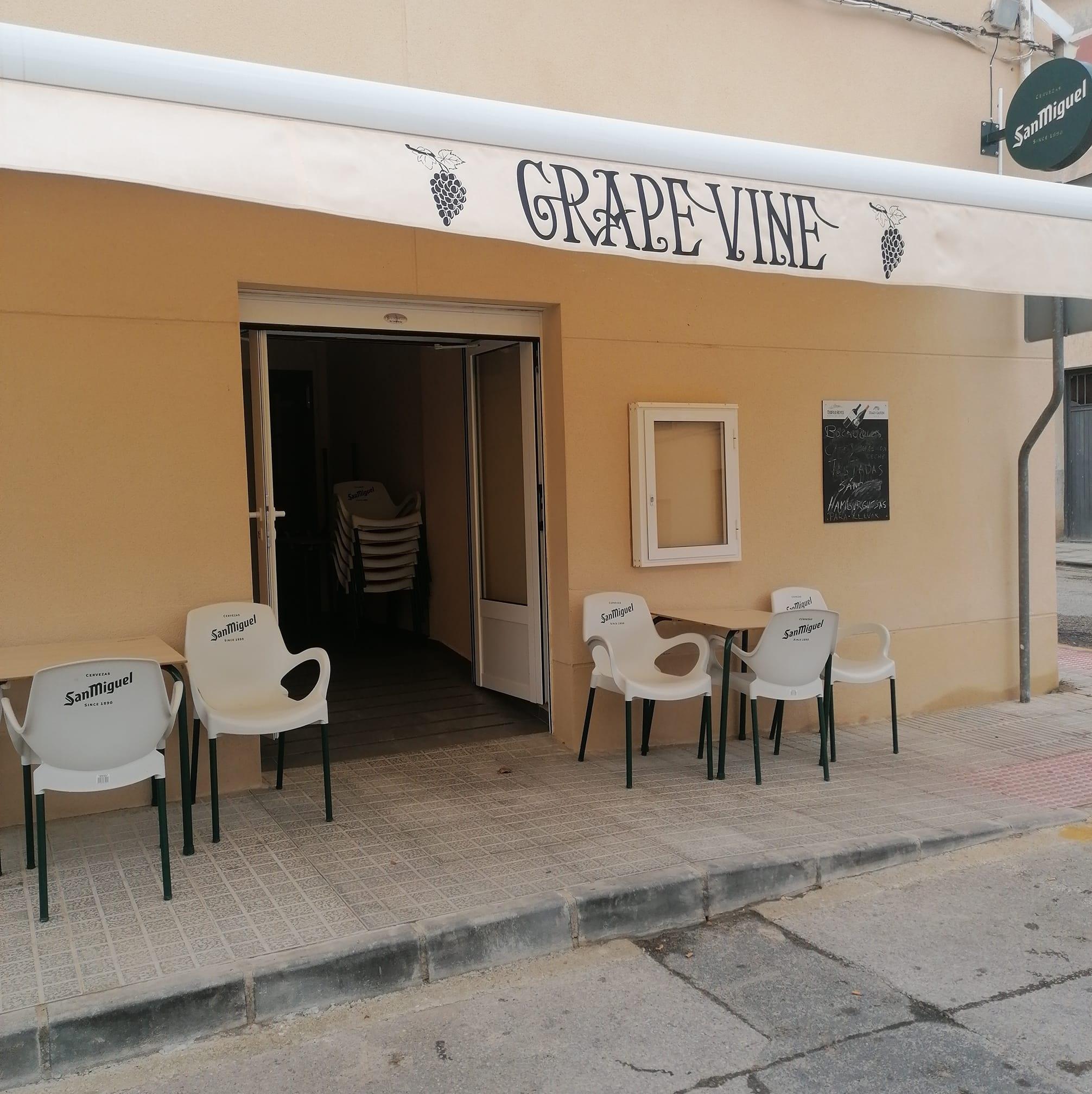 The Grape Vine Logo