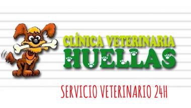Clinica Veterinaria Huellas Logo